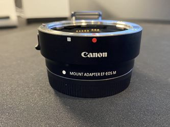 Canon Lense Adapter EF EOS M for Sale in Ladera Ranch,  CA