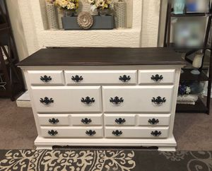 Dresser media center buffet console table tv stand entertainment credenza farmhouse rustic wood for Sale in Glendale, AZ