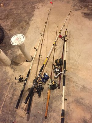 Fishing poles for Sale in Baltimore, MD