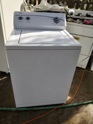 Washer n gas dryer is work good l give you 3 months warranty for Sale in Bakersfield, CA