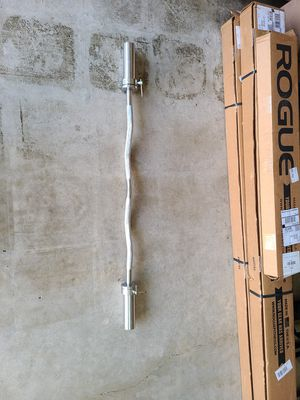 Olympic curl bar for Sale in San Diego, CA