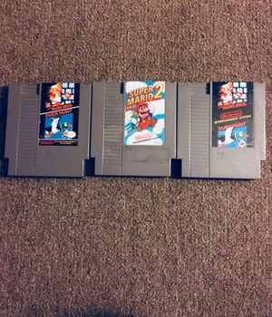 Classic Nintendo Games for Sale in Vidalia, GA
