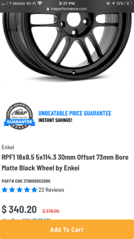 Enkei Black RPF1 Rims for Sale in Bonita, CA