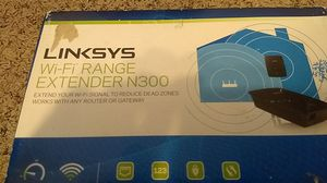 Linksys wifi range extender n300 for Sale in San Diego, CA