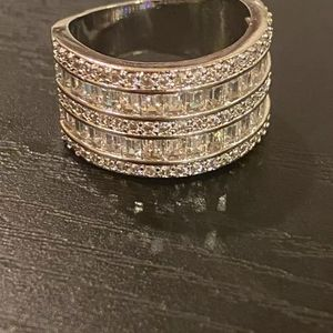 Sterling silver Engagement Ring 💍- Code OBI600 for Sale in Houston, TX
