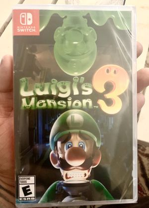 Luigis mansion 3 brand new for Nintendo switch for Sale in Moreno Valley, CA