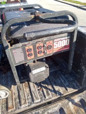 Generator 10hp 5k. Watts for Sale in Lake Park, FL