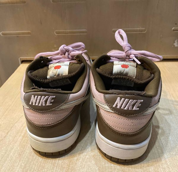 Nike Stussy X Dunk Low Pro SB X Cherry Size 9