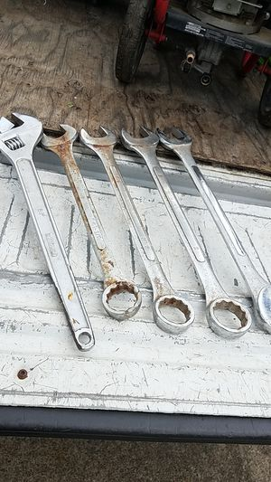 5 large wrenches for Sale in Cottage Grove, OR