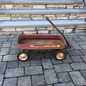 Vintage radio Flyer red wagon for Sale in Concord, MA