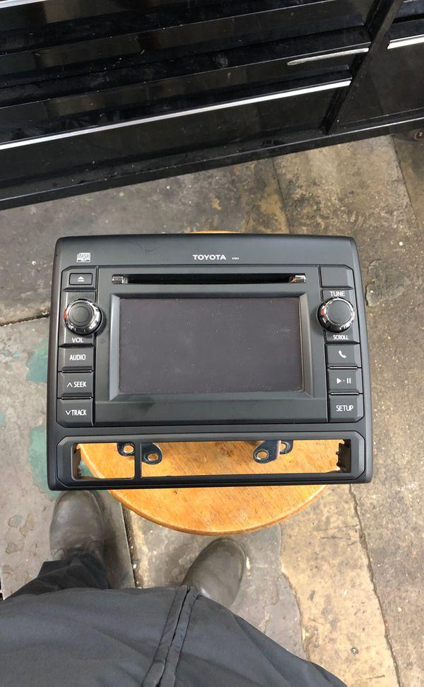 Car radio for Toyota Tacoma