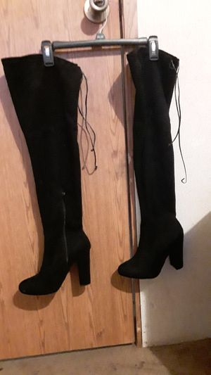 Thigh high boots size 6 for Sale in Niederwald, TX