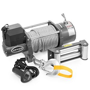 Electric Self Recovery Winch for Jeep Truck Trailer SUV - 17,000 lb for Sale in Parkland, FL