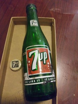 Antique 7up bottle late 1950s Los Angeles for Sale in Newport Beach, CA