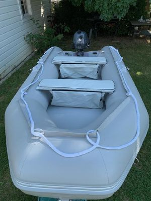 Inflatable Boat with Motor for Sale in Cleveland, OH