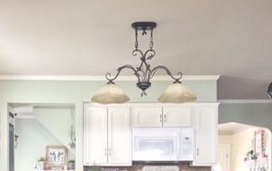 Pendant island light fixture for Sale in Cleveland, OH
