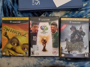 Shrek 2, MoH Frontline, MoH European Assault, Fifa world Cup 2006 for Sale in Riverside, CA