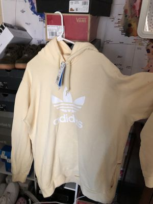 Yellow Adidas Hoodie size L for Sale in Pacific, WA