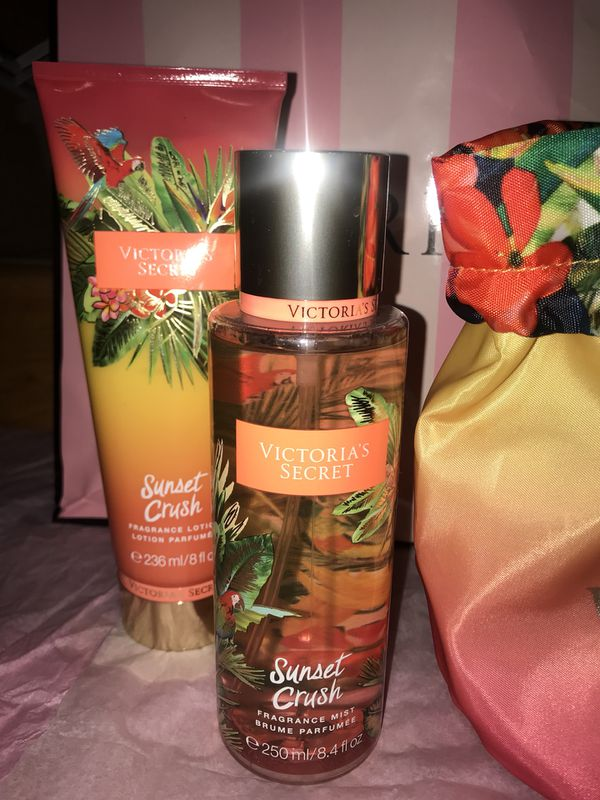 b296b8ff98 New Victoria s Secret Sunset Crush Fragrance Mist   Lotion With ...