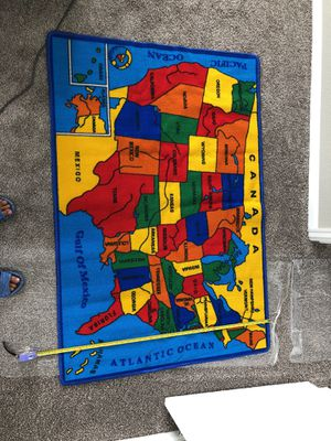 United States Map rug for Sale in Henderson, CO