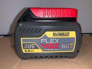 NEW FLEX VOLT BATTERY 60V. 6.0AH. for Sale in Dallas, TX