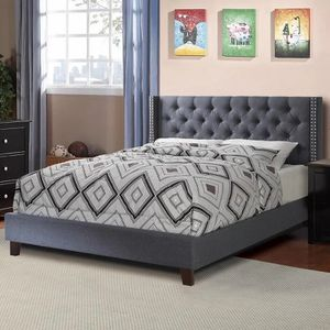 Malibu Full size platform bed- available also in Queen size $229.00! Limited Time Offer ! Free Delivery 🚚 for Sale in Ontario, CA