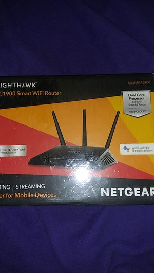 Nighthawk ac 1900 smart WiFi router for Sale in Fort Worth, TX