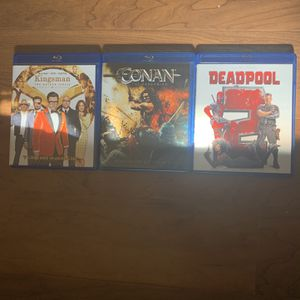 Kingsmen Part2, Conan And Deadpool 2 for Sale in Los Angeles, CA