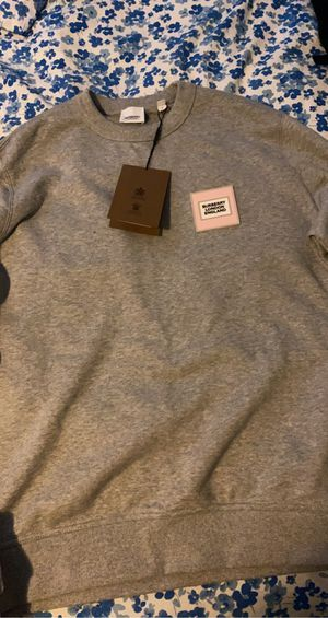 Burberry crewneck for Sale in Chicago, IL