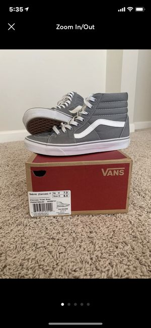 Vans Canvas Skate High: Grey for Sale in Durham, NC