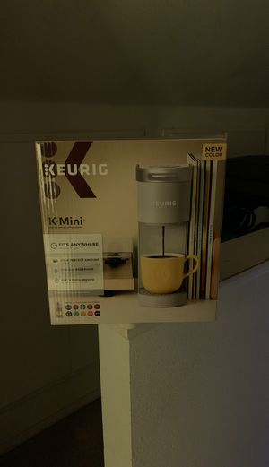 Keurig k-mini in studio gray color! Brand new, factory sealed in retail packaging. for Sale in University Place, WA