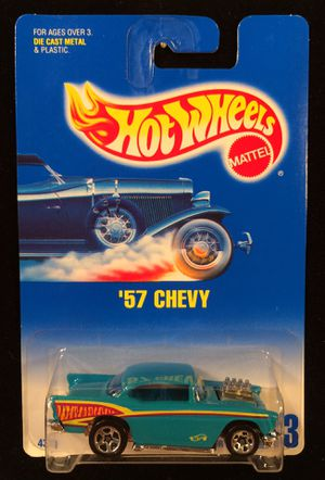 Hot Wheels Blue Card '57 Chevy • Collector #213 for Sale in Fort Worth, TX
