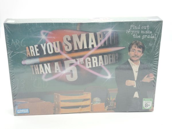 ARE YOU SMARTER THAN A 5TH Grader board game