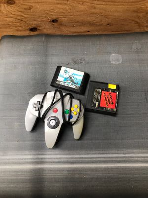 Sera games and 64 controller for Sale in Vancouver, WA