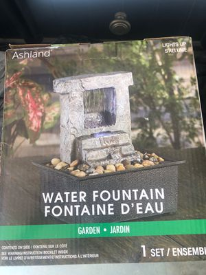 Ashland Water Fountain - new in box for Sale in San Dimas, CA