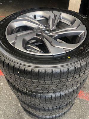 Rims tires 17 5x114.3 fit Honda Accord civic new tires for Sale in Santa Ana, CA