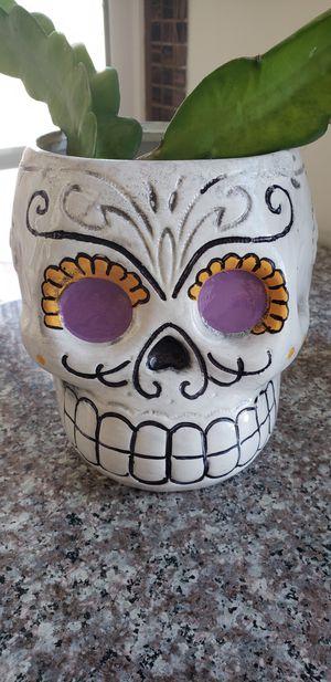 Halloween flower pot decoration for Sale in Chula Vista, CA