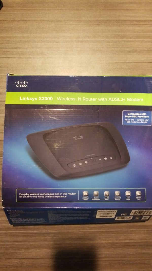 Wireless router/ modem combo