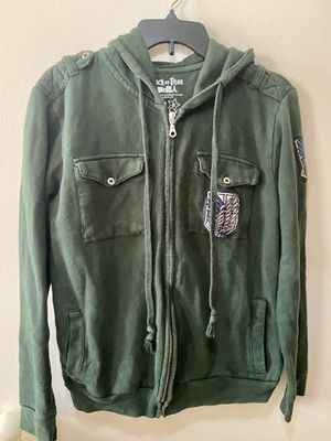 Attack on Titan scouting legion jacket hoodie unisex small for Sale in Schaumburg, IL