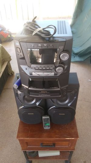 Panasonic stereo system for Sale in Phoenix, AZ