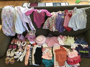 Lot of 3-6 month girls clothes and accessories for Sale in Fairfax, VA
