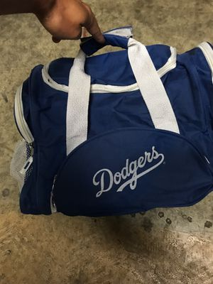 Small Los Angeles Dodgers duffle bag (16 inches left to right) for Sale in Tempe, AZ