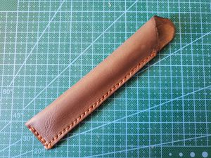 Unique. Made in Hawaii. Handmade Leather pen holder. for Sale in Honolulu, HI