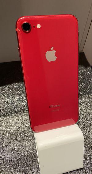 iPhone 8 Red (64GB) Unlocked, Desbloqueado for Sale in Santa Clarita, CA