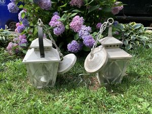 Kichler Rustic Farmhouse Style Hanging Lanterns for Sale in Manassas, VA