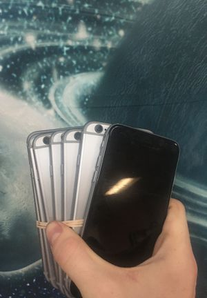 iPhone 6 32 gb unlock for Sale in Houston, TX