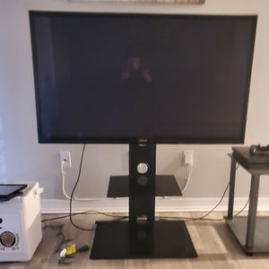 Samsung 55 Inch Plasma TV With Stand And Remote for Sale in Largo, FL