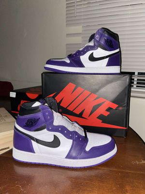 Nike air Jordan 1 court purple for Sale in Glendale, AZ