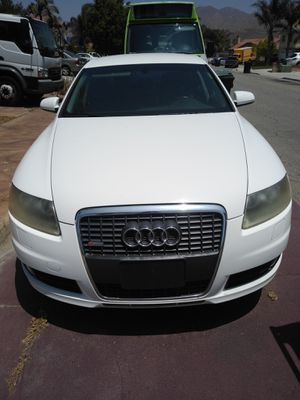Parting out 2008 Audi A6 S-Type for Sale in Riverside, CA