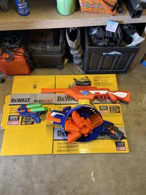 Nerf guns and water gun for Sale in Norwalk, CA